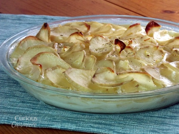 Gratin Dauphinois from Curious Cuisiniere