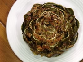Italian Stuffed Artichokes from Curious Cuisiniere