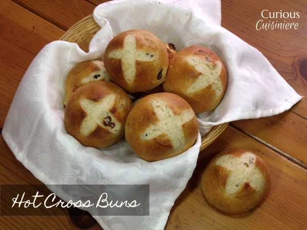 Hot Cross Buns with Curious Cuisiniere