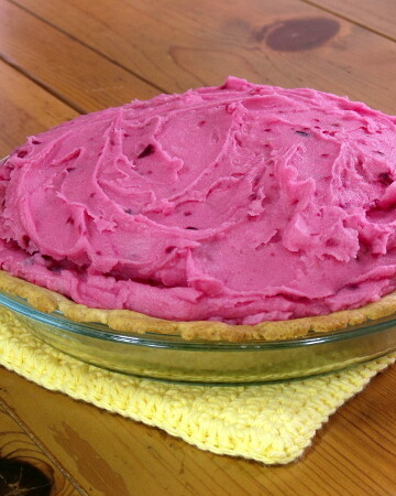 April Fools Day Strawberry Pie from Curious Cuisiniere