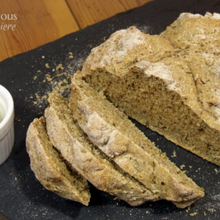Cracked Pepper Caraway Irish Soda Bread from Curious Cuisiniere