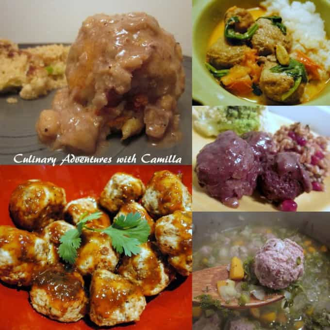 Svenska Kottbullar (Swedish Meatballs) By Culinary Adventures with Camilla