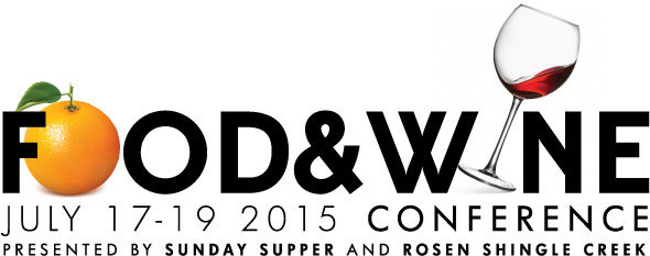 Food and Wine Conference July 17-19 2015 in Orlando! Get details and a promo code to save $50 off your registration at curiouscuisiniere.com