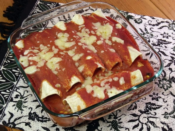 Breakfast Enchiladas from Curious Cuisiniere