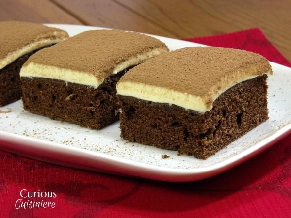 Chocolate Tiramisu Cake from Curious Cuisiniere