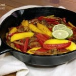 Mango Lime Vension Fajitas