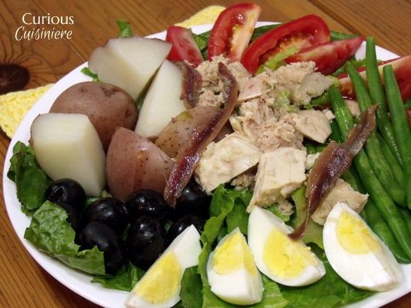 Salad Nicoise from Curious Cuisineire