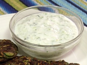 Turkish Cucumber and Yogurt Cacik from Curious Cusiniere