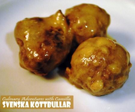 Svenska Kottbullar - Swedish Meatballs