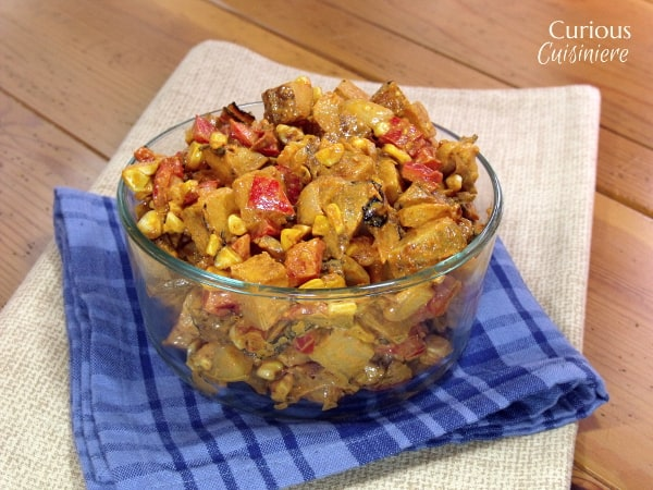 Mesquite Grilled Potato Salad | Curious Cuisiniere