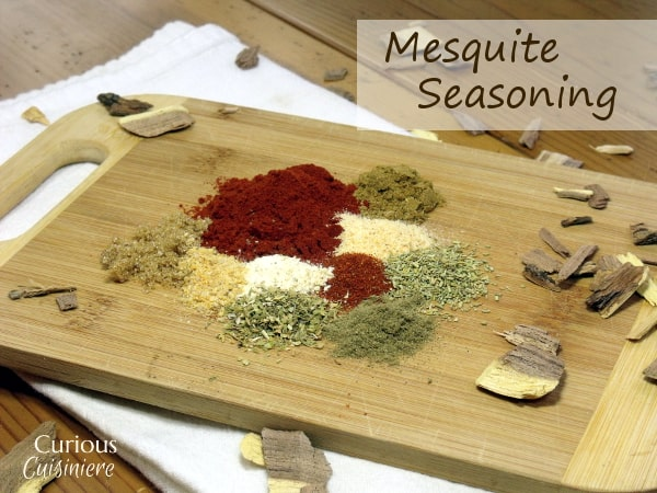 Add the flavor of mesquite smoking to your meat, dips, and sauces with this easy to make Mesquite Seasoning Mix. | www.CuriousCuisiniere.com