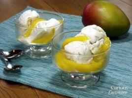 Mango Flambe | Curious Cuisiniere