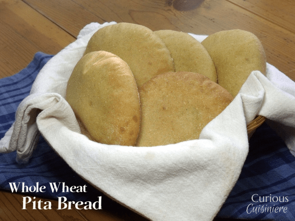 Whole Wheat Pita Bread | Curious Cuisiniere
