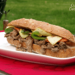 Bulgogi (Korean Barbecued Beef) Sandwich