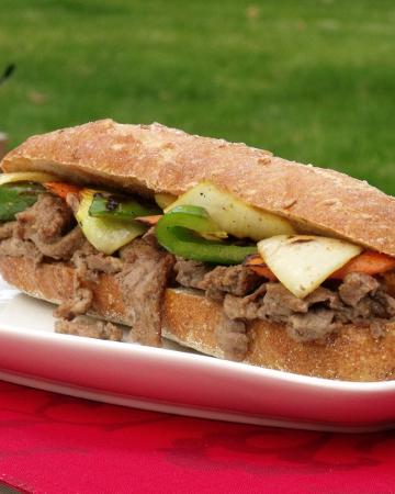 Korean Barbecued Beef (Bulgogi) Sandwich | Curious Cuisiniere