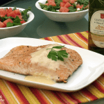 Grilled Salmon with Beurre Blanc and Loire Valley Muscadet
