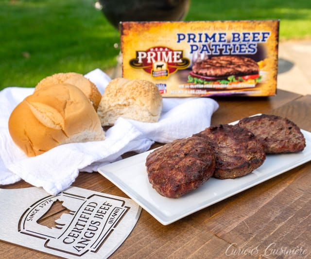 Certified Angus Beef ® brand Patties from the grill | Curious Cuisiniere