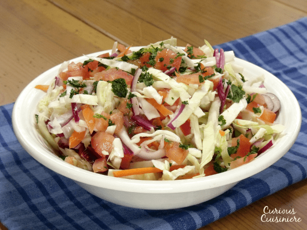 Nicaraguan Cabbage Slaw | Curious Cuisiniere