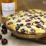 Cherry Clafoutis and Cremant de Limoux Brut Rose Wine Pairing