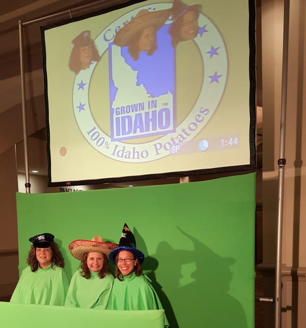 Food and Wine Conference 2015 Making an Idaho Potato music video.