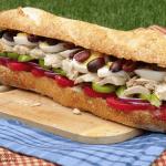 Pan Bagnat (Provençal Tuna Sandwich) #SundaySupper