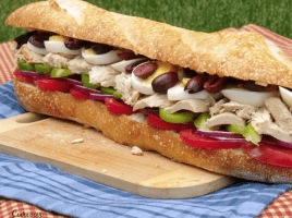 A French take on a tuna sandwich that is perfect for packing up for your next summer picnic.