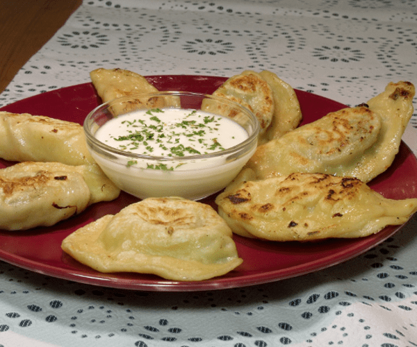 The Polish version of ravioli, pierogi are traditionally stuffed with sauerkraut or potatoes and cheese.