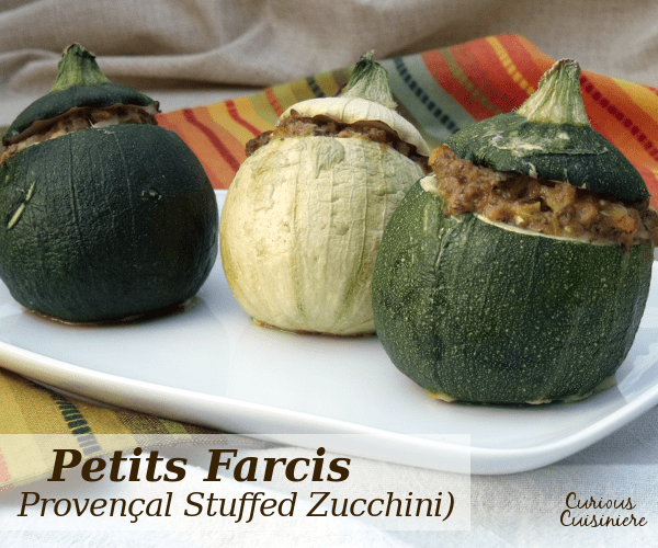 Petits Farcis are a classic dish from the south of France. These cute, sausage stuffed zucchini make for an elegant main dish that is sure to impress. | www.CuriousCuisiniere.com