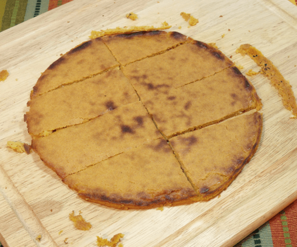 A chickpea flat bread from the south of France, socca is a smoky and nutty street food that is perfect for shacking.