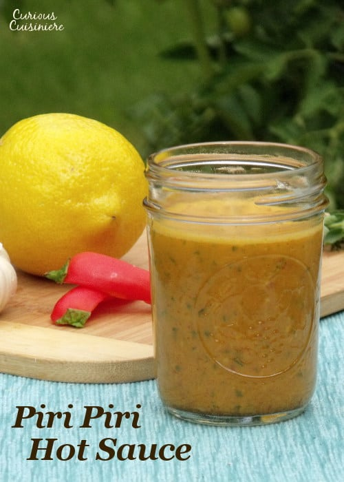 Bright lemon and spicy chilies come together in this incredibly versatile hot sauce recipe. | www.curiouscuisiniere.com