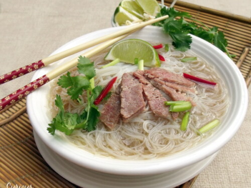 Crock Pot Pho Vietnamese Beef Noodle Soup Curious Cuisiniere