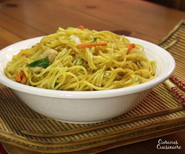 Chicken Chow Mein | Curious Cuisiniere