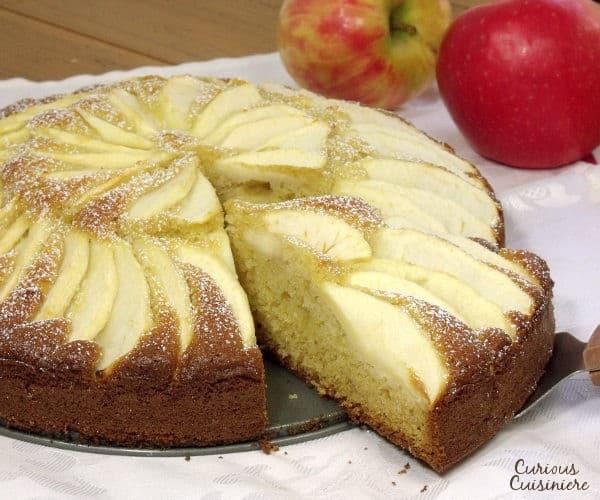 Apfelkuchen (German Apple Cake) #SundaySupper