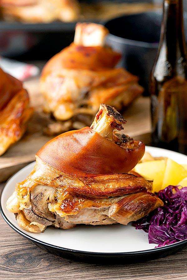 Schweinshaxe (German Roast Pork Knuckle)