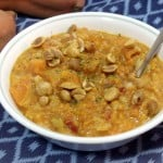 African Peanut Soup with Sweet Potatoes
