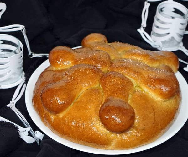Pan de Muerto (Mexican Day of the Dead Bread)