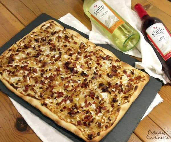 Flammkuchen (German Pizza)