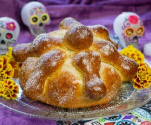 Mexican Day of the Dead Bread Pan de Muerto small picture