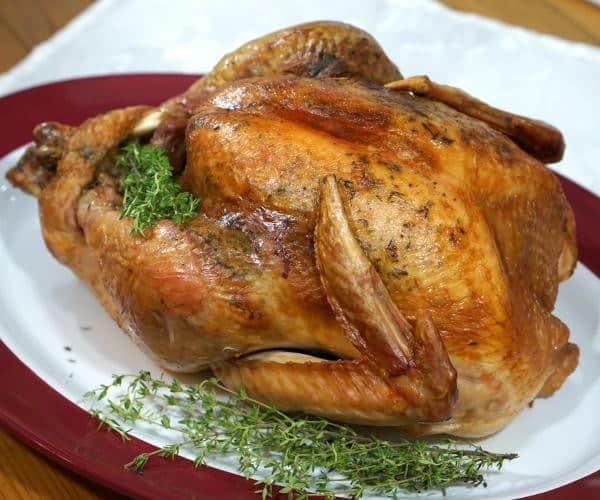 French Herb Roasted Turkey with Languedoc Wine Pairing