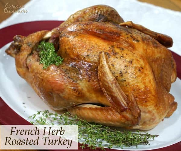 A holiday roasted turkey seasoned with French herbs pairs perfectly with a deep and flavorful Languedoc wine.