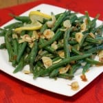 Haricots Verts Amandine and a White Bordeaux Wine Pairing