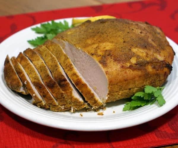 Tandoori Turkey Breast