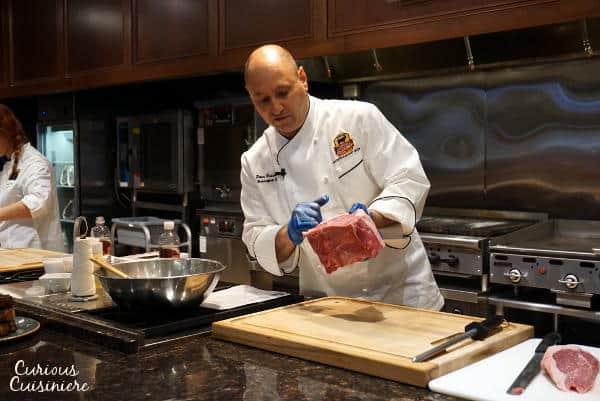 Chef Peter Shows off a Roasting Cut #SundaySupper #RoastPerfect | www.curiouscuisiniere.com