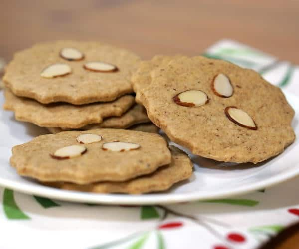 Dutch Speculaas Cookies