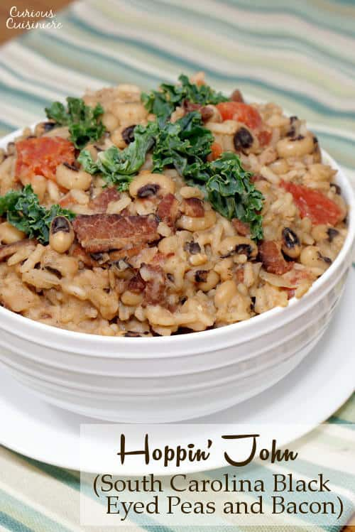 ... John (South Carolina Black Eyed Peas and Bacon) • Curious Cuisiniere