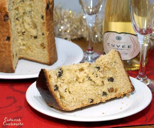 The classic Italian Christmas bread, Panettone, brings cake and bread together, and this easy recipe creates the perfect holiday loaf. | www.curiouscuisiniere.com