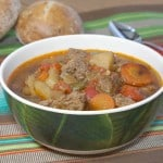 Slow Cooker Hungarian Goulash is flavorful, hearty, and healthy! | www.CuriousCuisiniere.com
