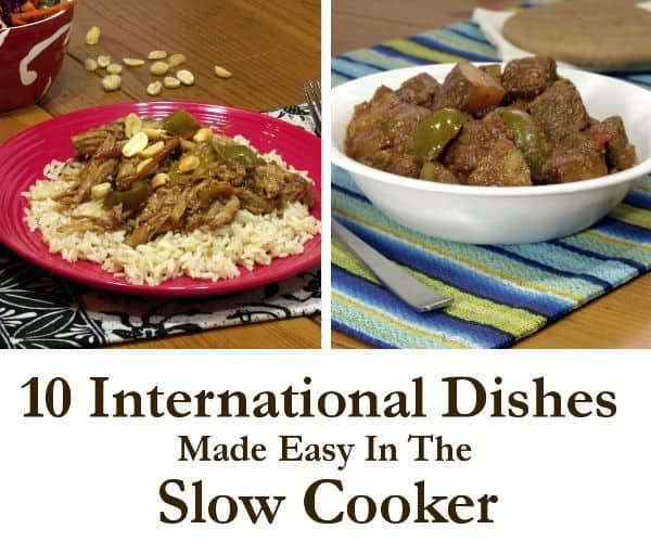 10 Slow Cooker Meals From Around The World