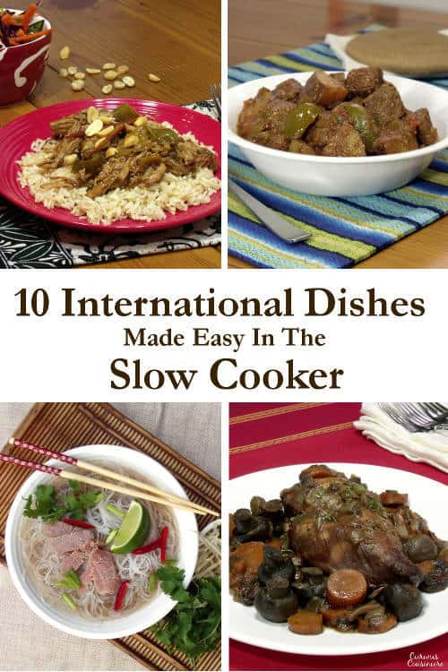 10 Slow Cooker Recipes For International Cuisine