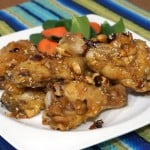 Dak Kang Jung (Korean Sweet and Spicy Chicken Wings)